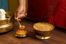 traditional indian ayurvedic  massage