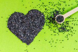 Black and White Chia Seeds
