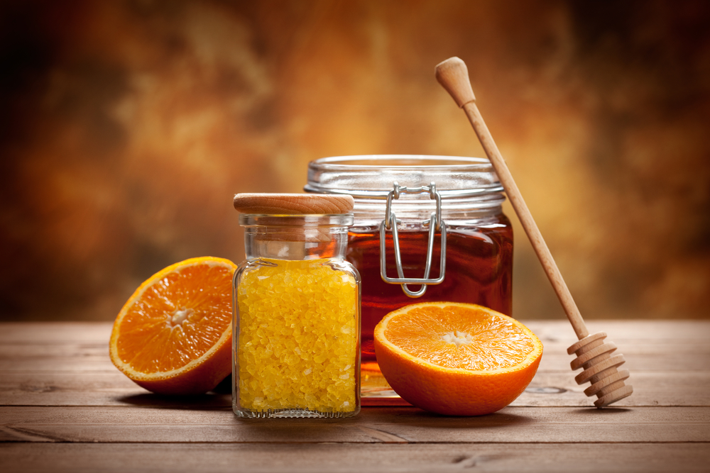 Orange Spa - fresh minerals for Aromatherapy