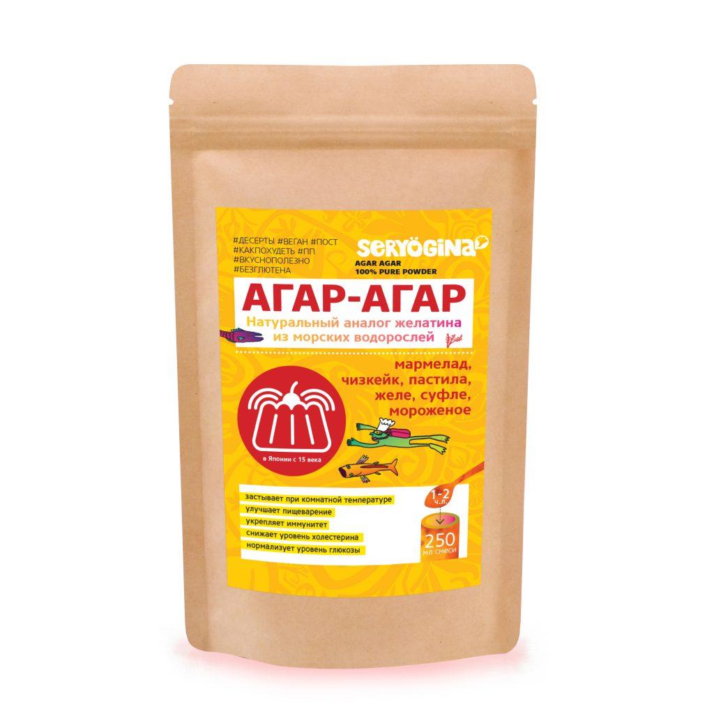 Агар-агар для похудения