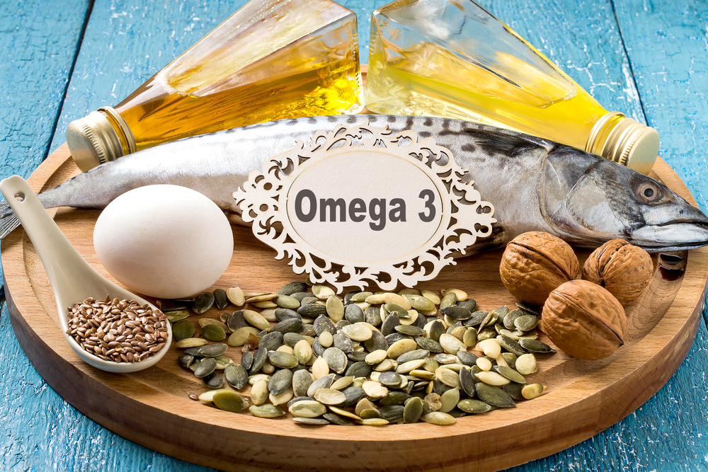 Products - source fatty acids Omega 3