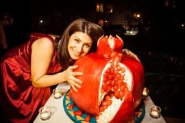 1Гаяне Бреиова и великолепный торт Веры Оганесян