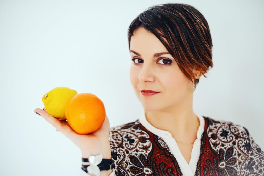 Я с апельсинами