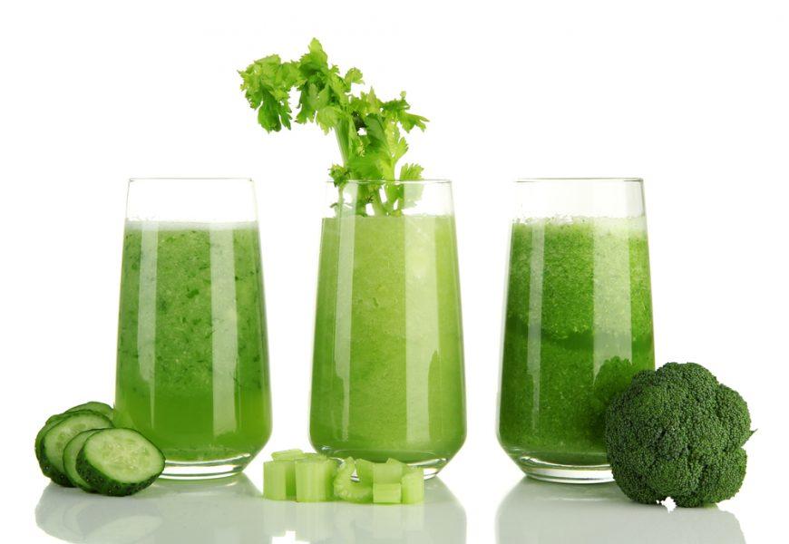 зеленые смузи